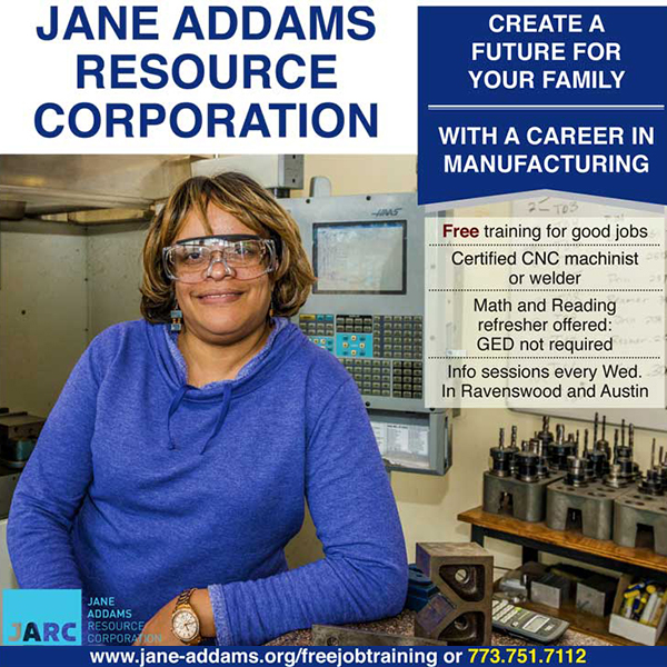 Jane Addams Resource Corporation Ad