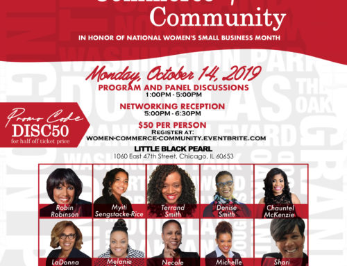 "QCDC Presents ""Women+Commerce+Community"" on Oct. 14"