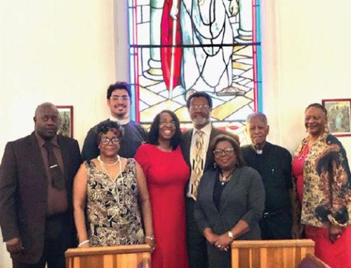 Abbott and Sengstacke Family Members Visit the Church Co-Founded by Flora Abbott Sengstacke