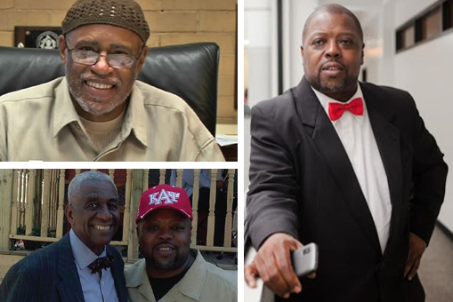 FEARLESS WARRIORS – Dr. Conrad Worrill, Dr. Rev. Dr. Leon Finney, Jr. and Mark Allen